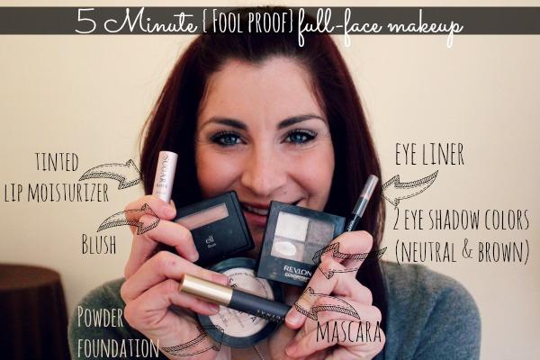 5 Minute Make-Up for Moms