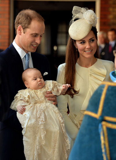 What Was Prince George's Christening Really Like?