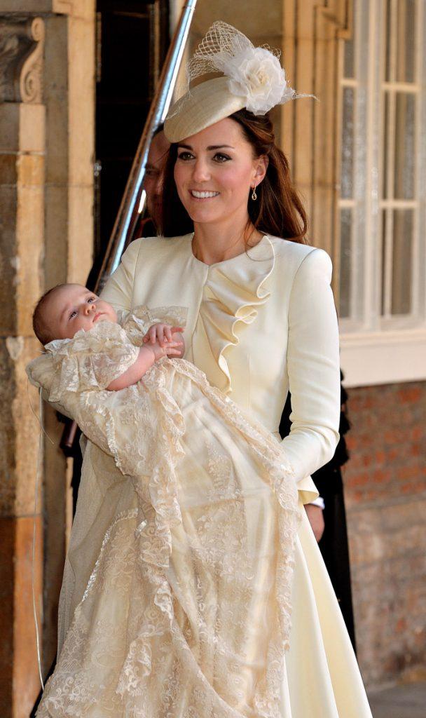 Kate Middleton Prince George Christening