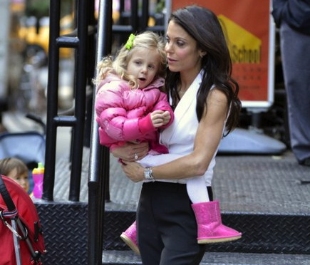 Bethenny Frankel Offers Parenting Advice