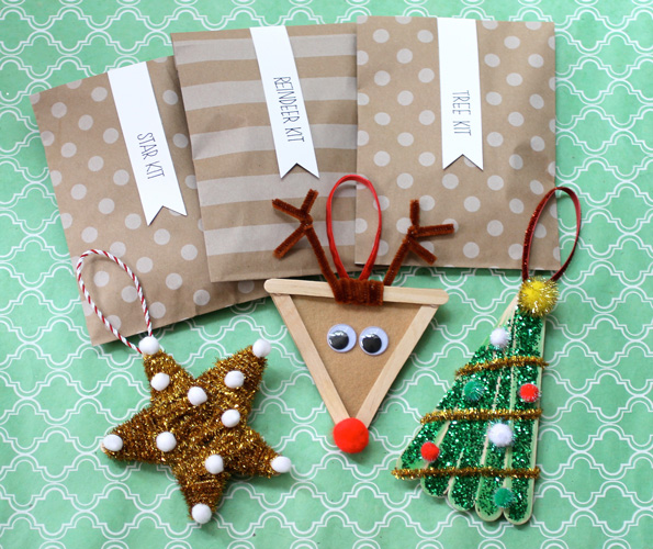 DIY Kids Christmas Ornaments