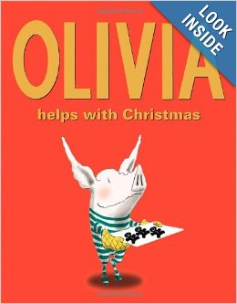 Olivia Christmas book for kids