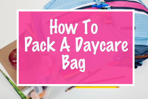 Daycare Packing List for Preschoolers