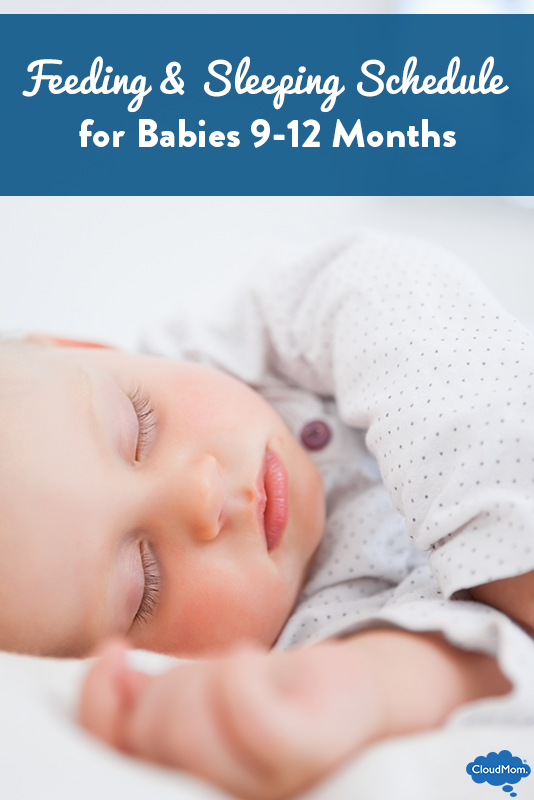 Schedule: Feeding and Sleeping for Babies at 9 months-12 months