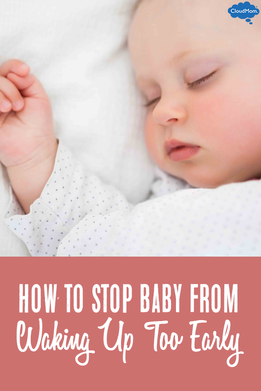 Stopping Your Baby From Waking Up Too Early