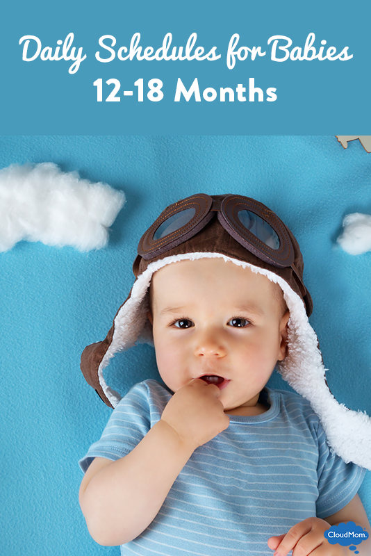 Daily Schedules for Babies at 12 Months to 18 Months
