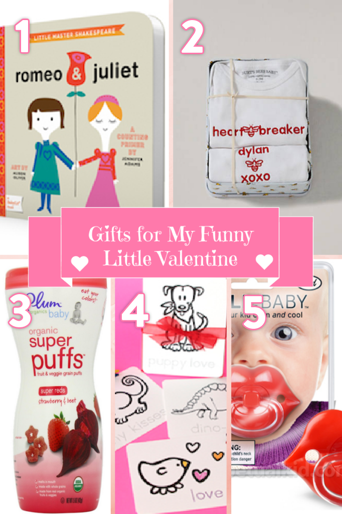 Gifts for My Funny Little Valentine