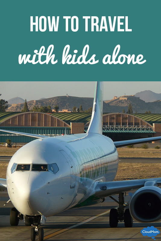 Tips On How To Travel With Kids ALONE