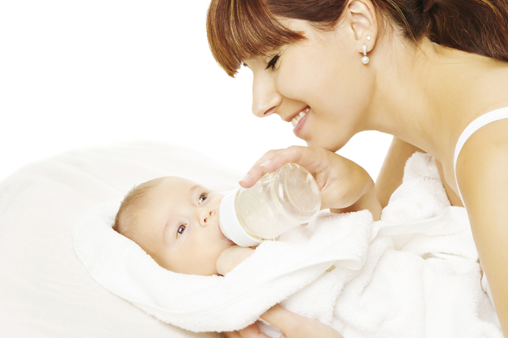 How To Start Bottle Feeding A 6 Month Old Baby