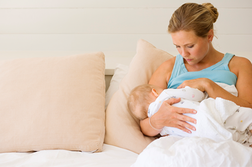Treating Breast Pain After Birth