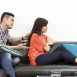 fighting with spouse