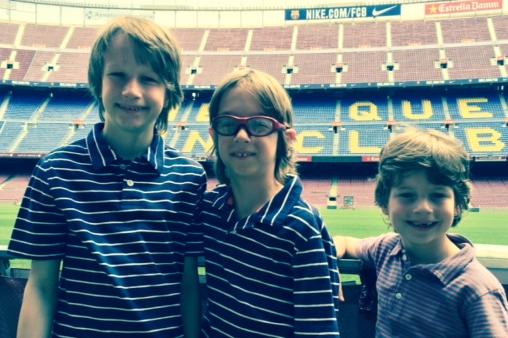 5 American Kids in Barcelona #1