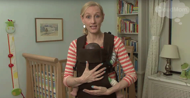 How to Carry your Older Baby in the Beco Gemini - Legs Out Position