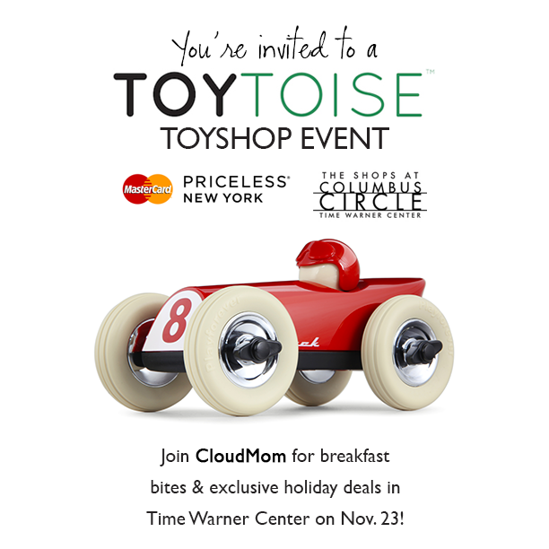 YOU'RE INVITED to a Toytoise event in NYC featuring CloudMom!