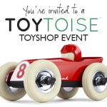 toytoise toyshop event