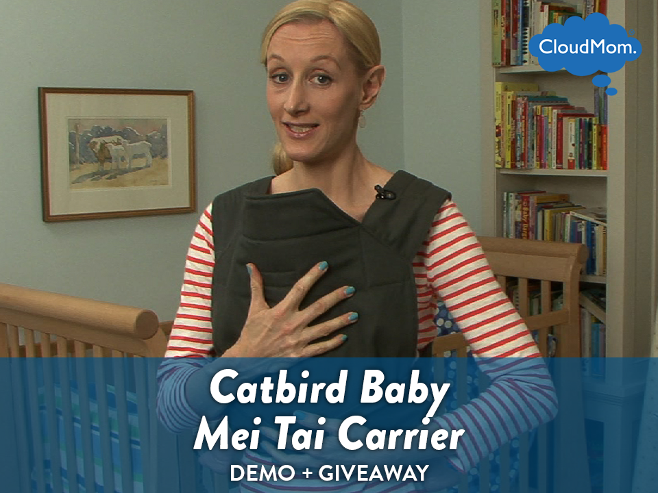 How to Carry a Baby in the Catbird Baby Mei Tai + GIVEAWAY