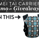 mei tai carrier demo giveaway