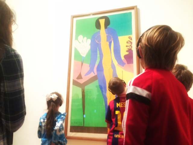 tips on approaching art with children