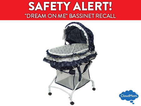 Dream On Me Bassinet Recall