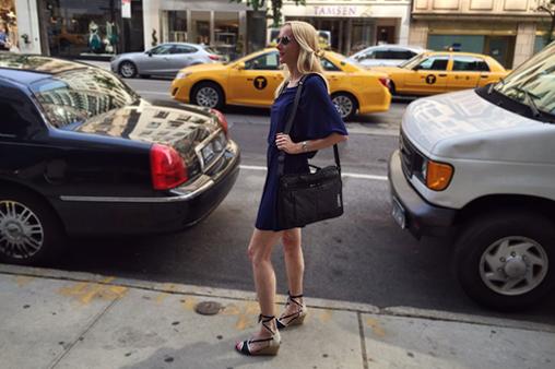 Mom Fashion: Roman Dress and Espadrille Sandals