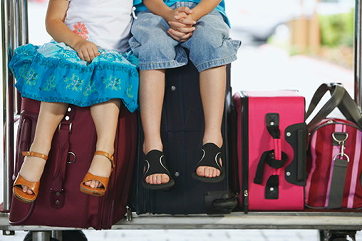 Surviving Flying Alone Internationally With Kids