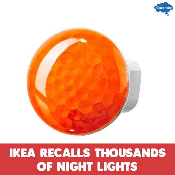 IKEA Recalls Thousands of Night Lights