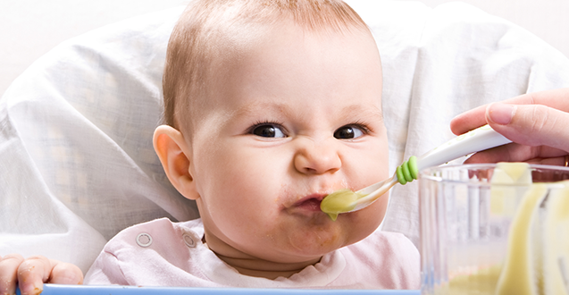New Research Encourages Bitter Baby Foods