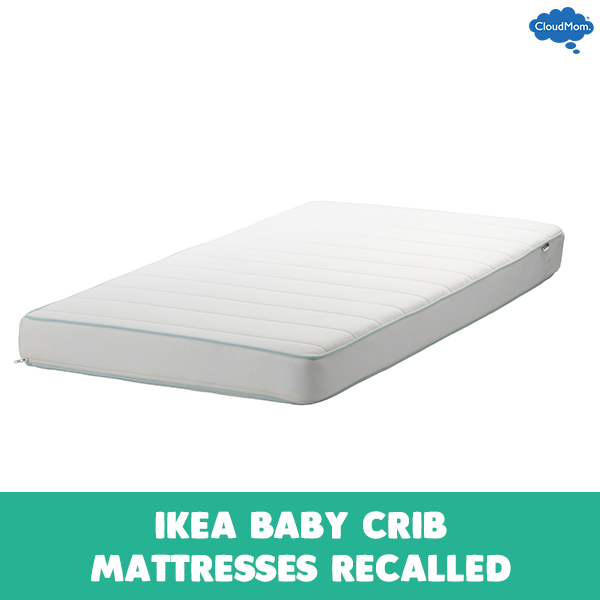 ikea baby crib mattresses recalled