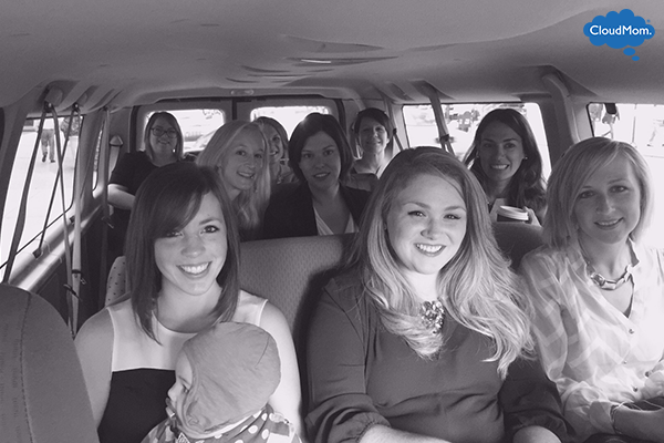group of mom bloggers