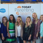 Hilary and Haylie Duff with mom bloggers