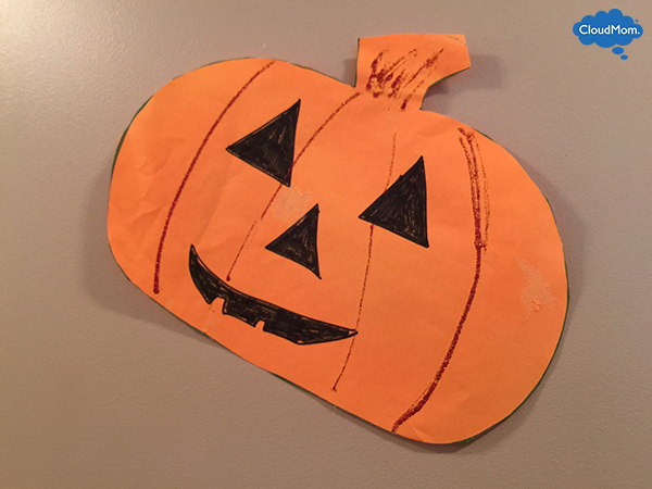 paper pumpkin - How To Make Paper Halloween Decorations