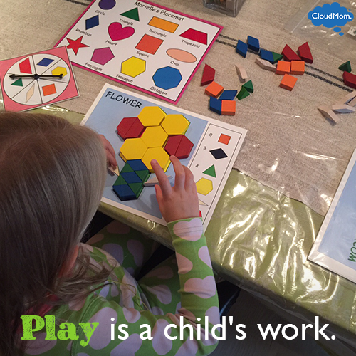 play-is-a-childs-work