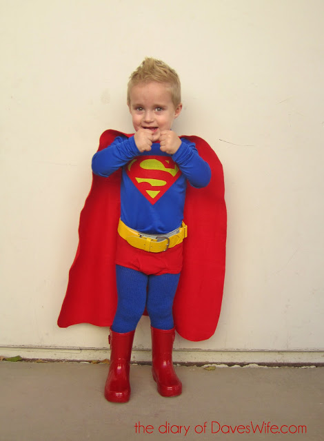 superman kid costume