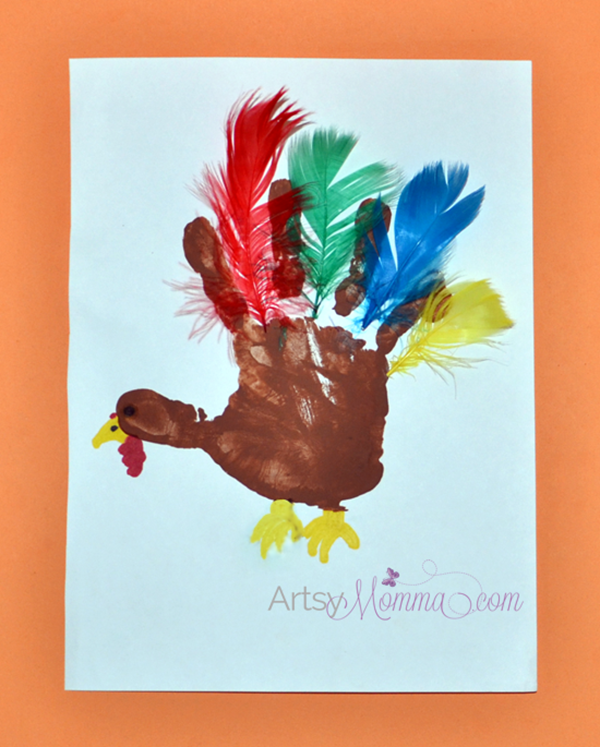 5 fun and easy thanksgiving crafts for kids cloudmom for Thanksgiving craft ideas for kindergarten