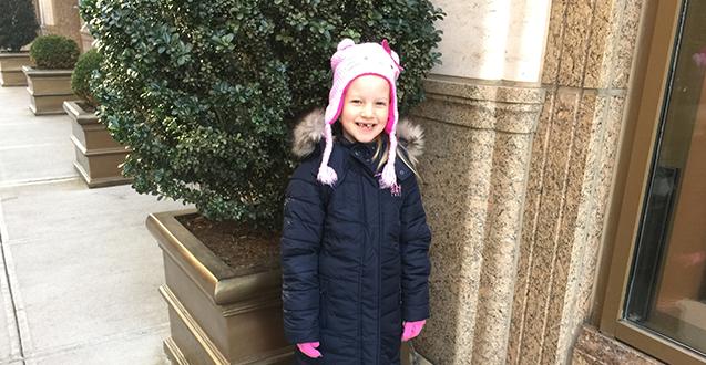 Kid Fashion: Girls Down Jacket