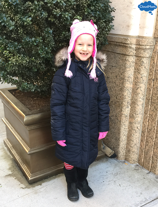 Kid Fashion: Girls Down Jacket | CloudMom