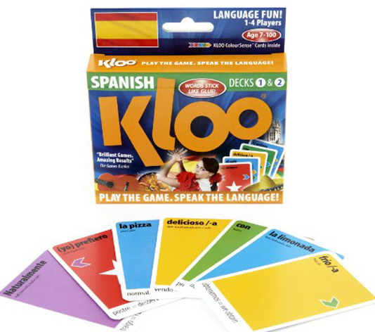 KLOOs Learn to Speak French Language Card Game