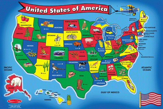 Melissa-&-Doug-USA-Map-51-pcs-Floor-Puzzle