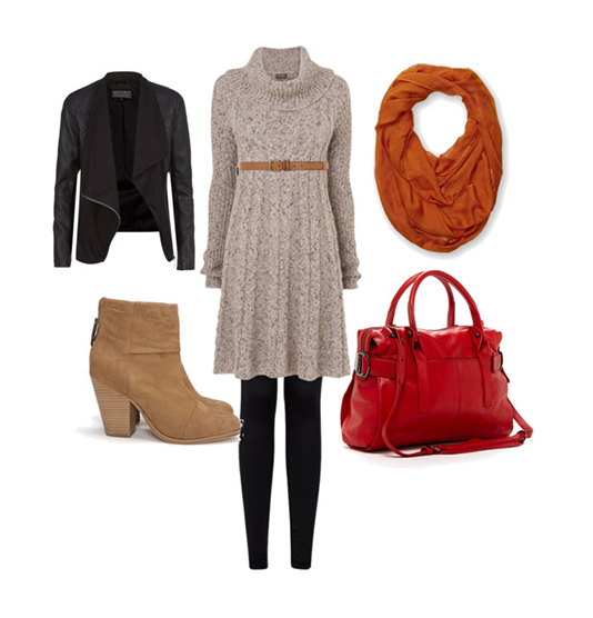 adorable-sweater-dress-outfit