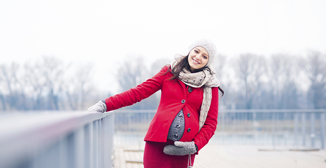 Hot Maternity Wear for Cold Winter Days
