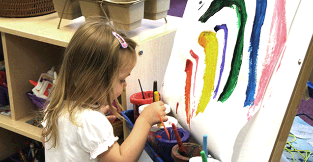 How to Foster Creativity in a Restless Toddler