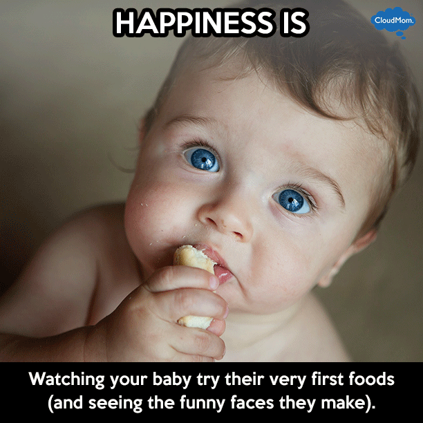 baby's very first foods