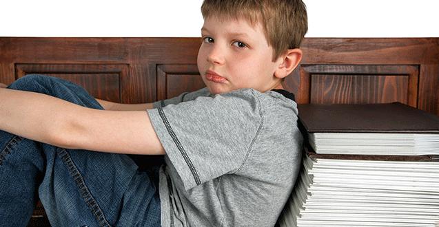 Middle School Homework Stress