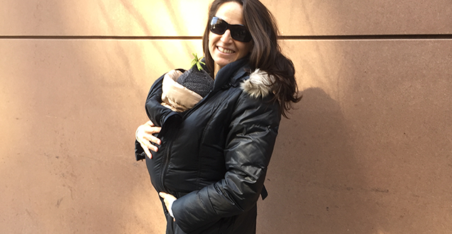 Maternity Down Winter Coat: The M Coat
