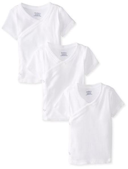 Gerber Unisex Short Sleeve Side Snap Shirt
