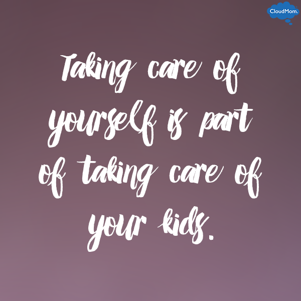 Taking-care-of-yourself as a mom