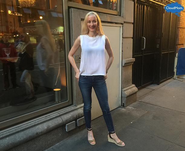 sleeveless sandro blouse