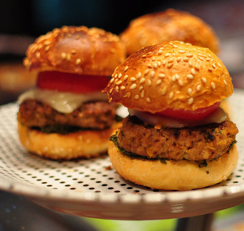 Veggie-packed burgers