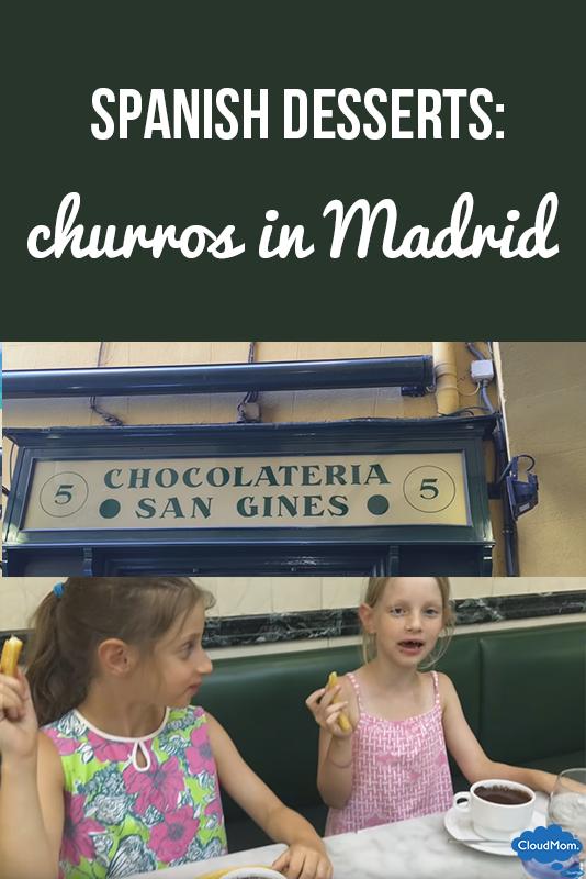Spanish Desserts: Churros in Madrid