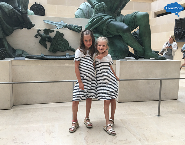 Kids Fashion at the Louvre Museum